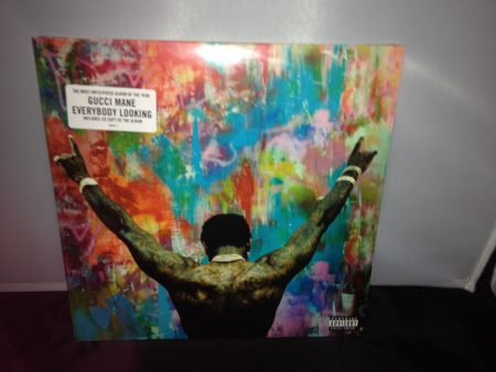 "Gucci Mane ""Everybody Looking"" 2XLP Colored Vinyl with CD"