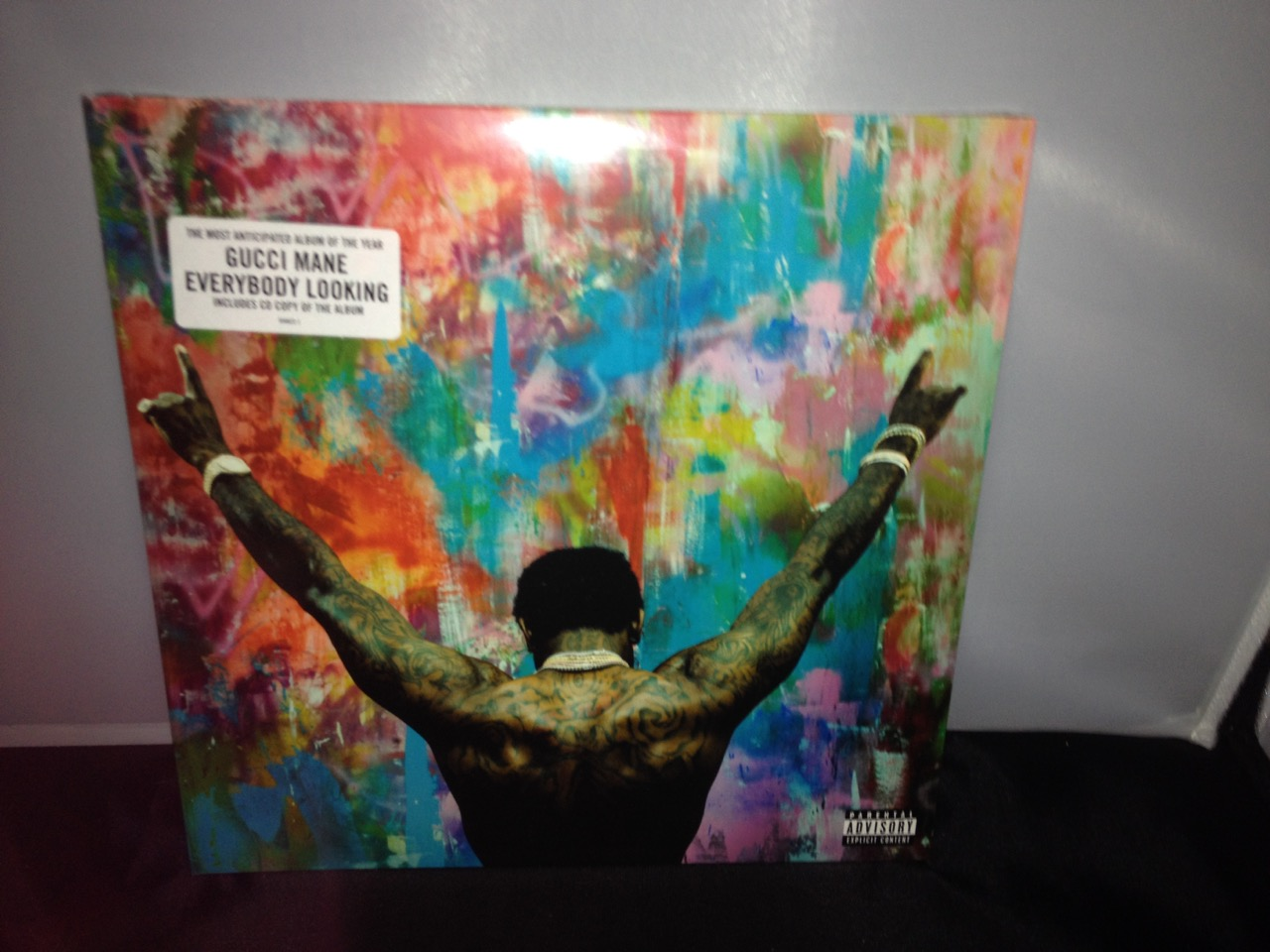 """Gucci Mane """"Everybody Looking"""" 2XLP Colored Vinyl with CD"""