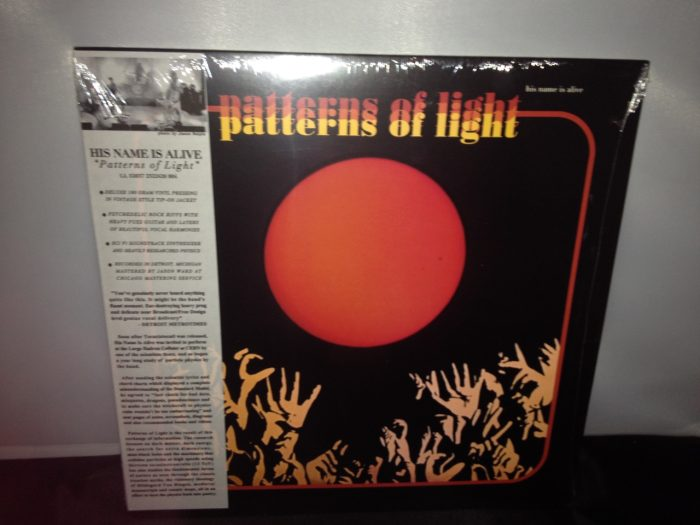 """His Name Is Alive """"Patterns Of Light"""" Deluxe 180gm Vinyl LP 2016"""