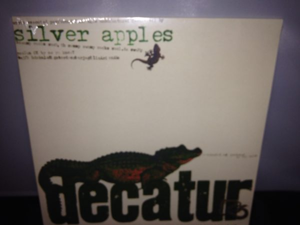 "Silver Apples ""Decatur"" Vinyl 2016"