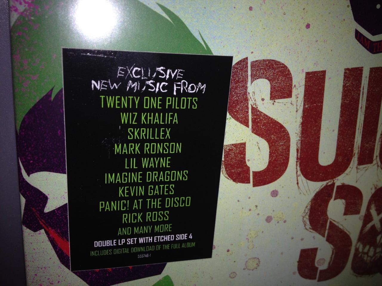Suicide Squad Double Vinyl