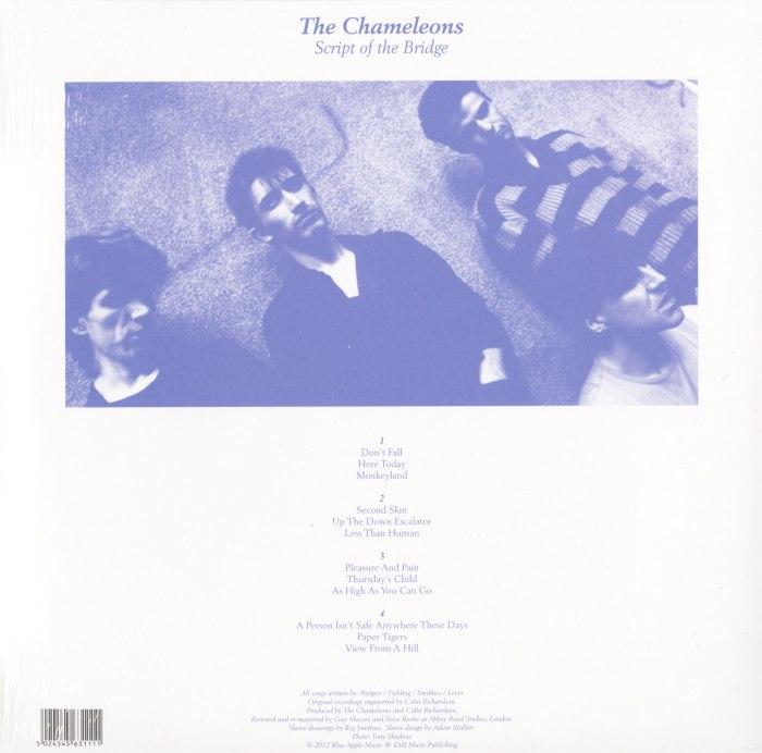 """The Chameleons """"Script Of The Bridge"""" 2XLP 180 Gram, Abbey Rd Remaster, 2014"""