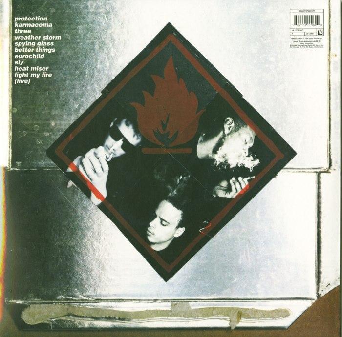 "Massive Attack ""Protection"" 180 Gram, Vinyl, Reissue, Virgin Records, 2016"