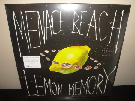 "Menace Beach ""Lemon Memory"" Scratch 'n Sniff 180 Gram Yellow Vinyl LP"