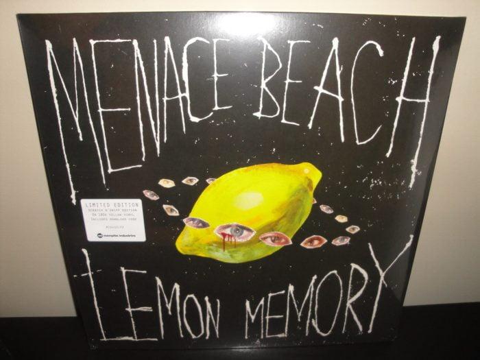 "Menace Beach ""Lemon Memory"" Scratch 'n Sniff 180 Gram Yellow Vinyl LP"