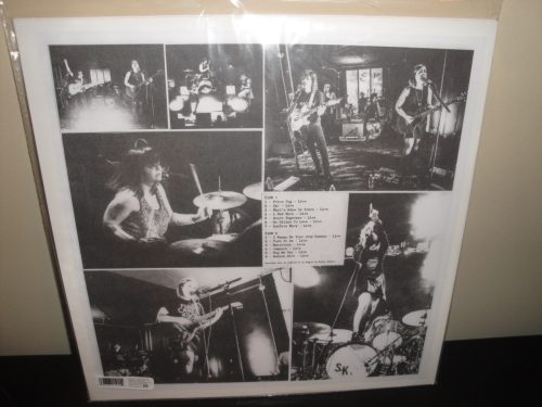 "Sleater-Kinney ""Live In Paris"" Vinyl LP 2017 Sub Pop"