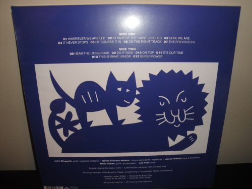 "Half Japanese ""Hear The Lions Roar"" Limited Edition Lilac Colored Vinyl LP"