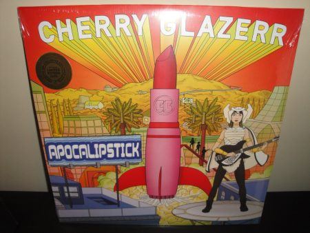 "Cherry Glazerr ""Apocalipstick"" Limited Colored Vinyl LP 2017"