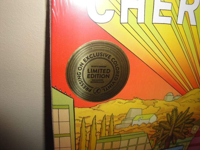 "Cherry Glazerr ""Apocalipstick"" Limited Colored Vinyl LP 2017"