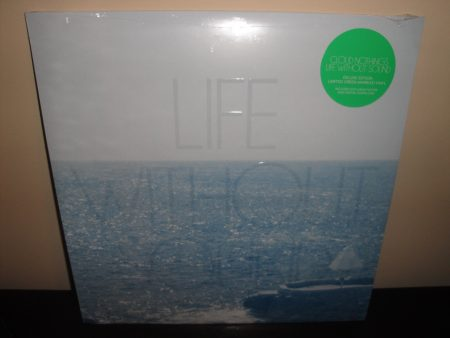 "Cloud Nothings ""Life Without Sound"" Deluxe Edition Green Marble Vinyl LP"