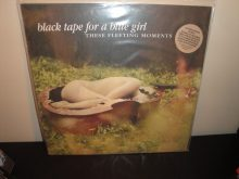 """Black Tape For A Blue Girl """"These Fleeting Moments"""" Ltd Ed Colored Vinyl LP"""