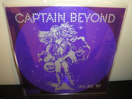 "Captain Beyond ""04.30.72"" Limited Etched White Colored Vinyl LP"