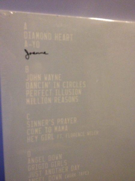 """Lady Gaga """"Joanne"""" 2XLP Double Vinyl LP in Gatefold Jacket NEW"""