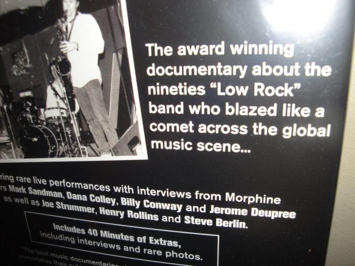 Morphine: Journey of Dreams DVD