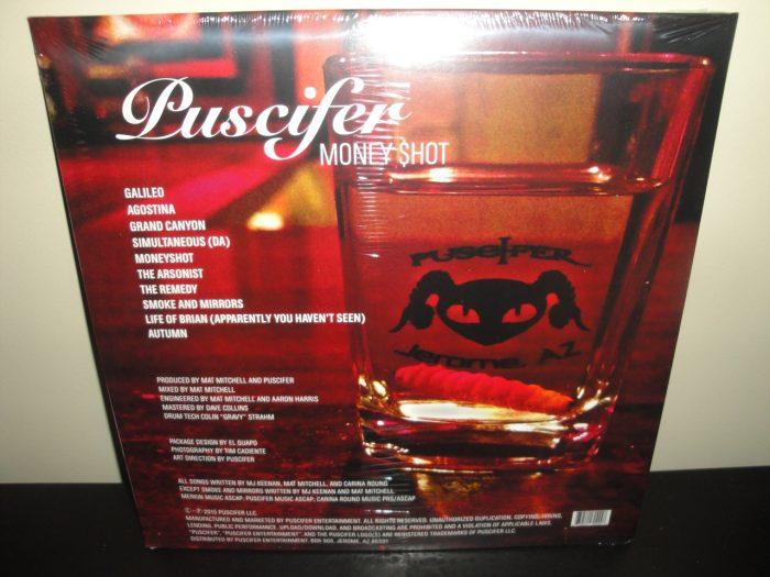 """Puscifer """"Money Shot"""" 2XLP Vinyl NEW 2016 Tool"""