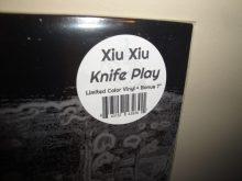 "Xiu Xiu ""Knife Play"" 2017 Colored Vinyl w Bonus 7"", Deluxe Edition, Reissue"