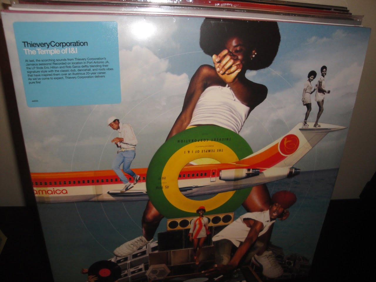 "Thievery Corporation ""The Temple of I&I"" 2XLP Vinyl Gatefold NEW"