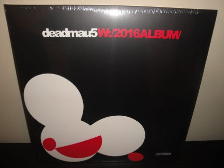 Deadmau5 (Deadmaus) W:/ 2016ALBUM/ Double Vinyl LP Ltd Ed 2017