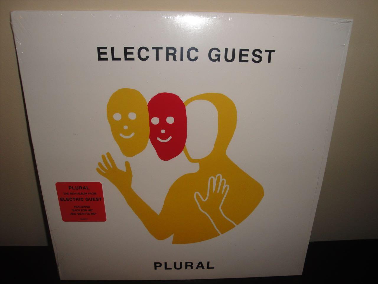 """Electric Guest """"Plural"""" 2017 Vinyl LP"""