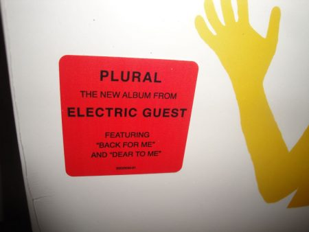 "Electric Guest ""Plural"" 2017 Vinyl LP"
