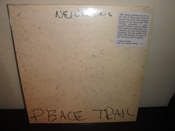 "Neil Young ""Peace Trail"" Vinyl LP 2017 New Sealed"