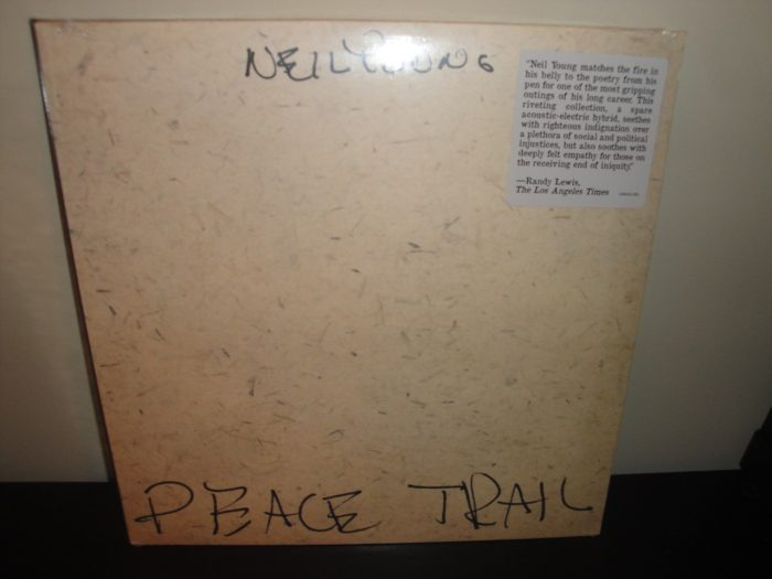 """Neil Young """"Peace Trail"""" Vinyl LP 2017 New Sealed"""