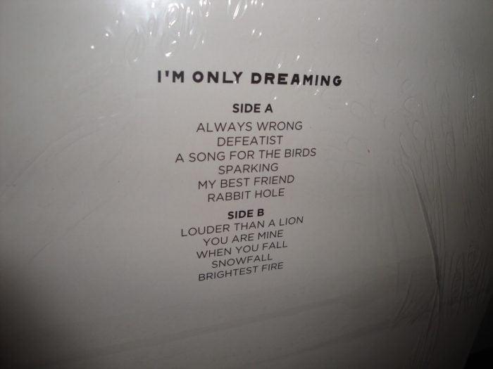 Eisley - I'm Only Dreaming - Ltd Ed of 300 Red, Black Swirl Colored Vinyl LP