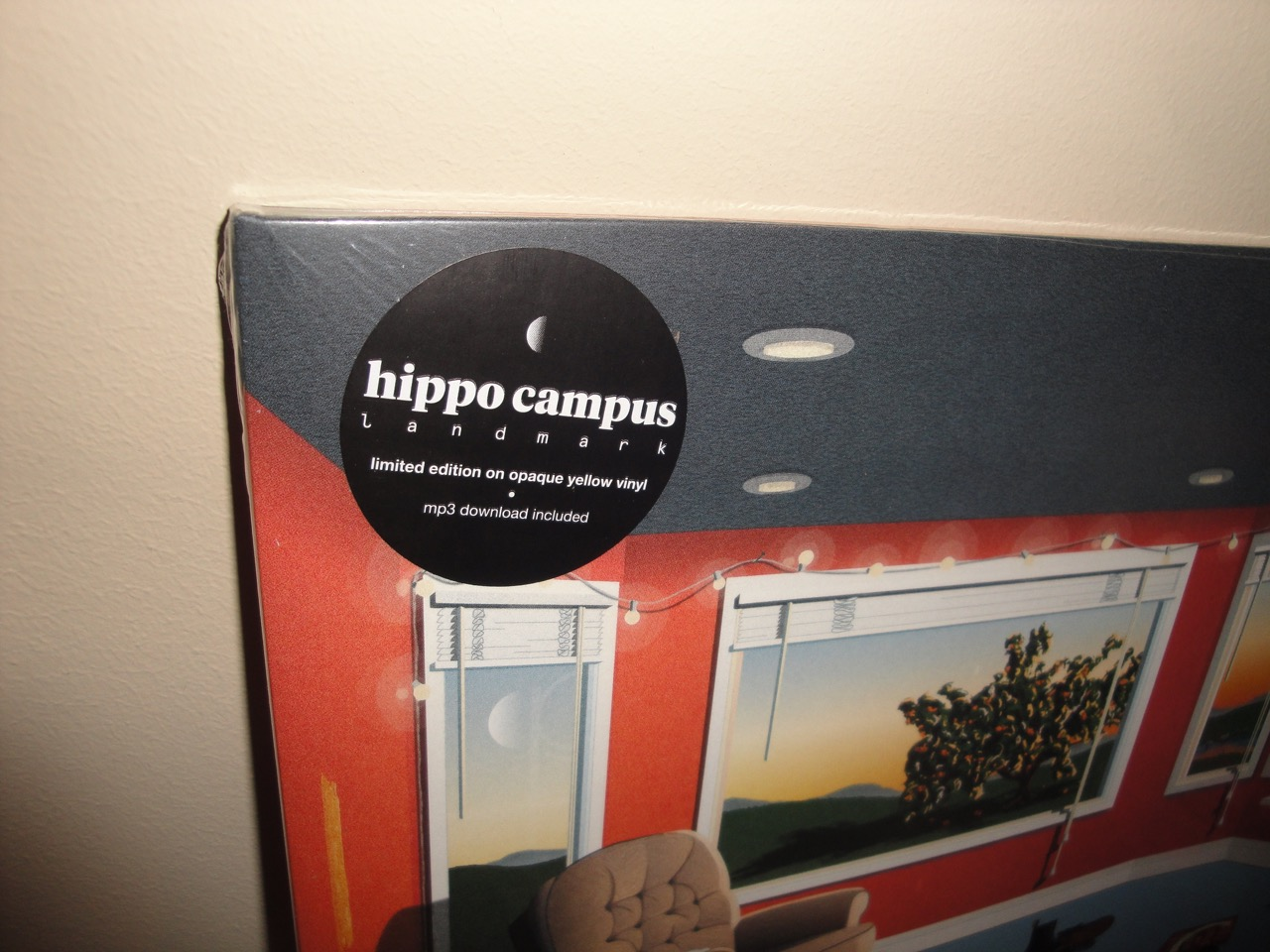 Hippo Campus - Landmark - Ltd Ed Opaque Yellow Vinyl LP 2017
