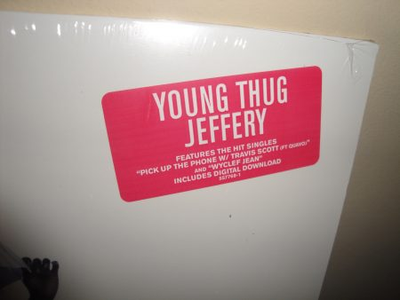 Young Thug - Jeffery - Limited Edition Vinyl LP 2017 New, Sealed