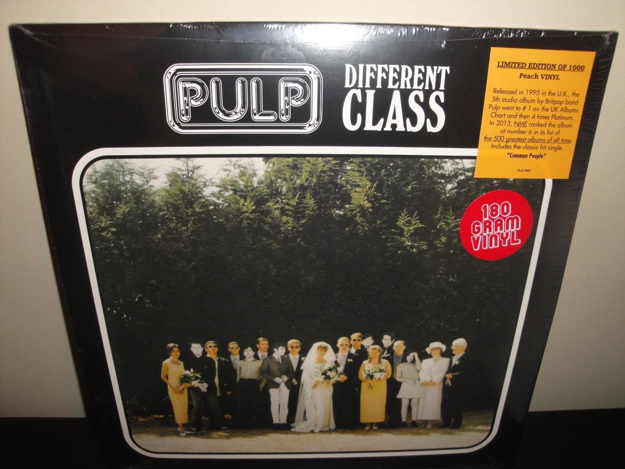 Pulp - Different Class - 180 Gram Peach Colored Vinyl Reissue 2017