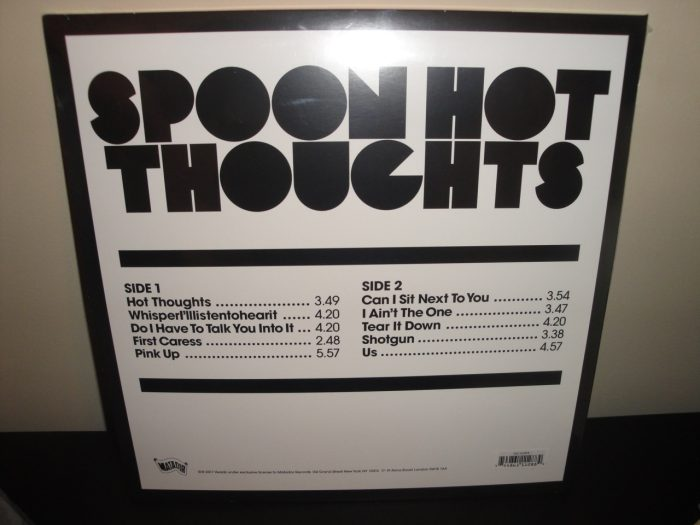 Spoon - Hot Thoughts - Limited Edition Red Colored Vinyl LP 2017