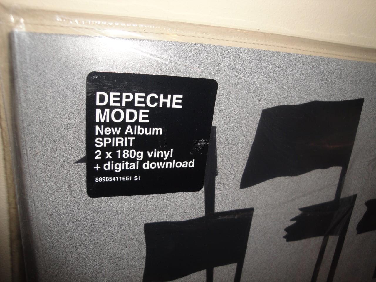 Depeche Mode - Spirit - 2XLP 180 Gram Vinyl, Gatefold w Download