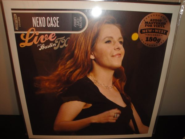 Neko Case - Live From Austin, TX - 2017 180 gram Vinyl LP