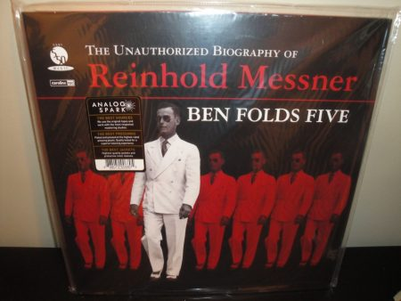 Ben Folds File - Unauthorized Biography Of Reinhold Messner - Ltd Ed 180 Gram Reissue