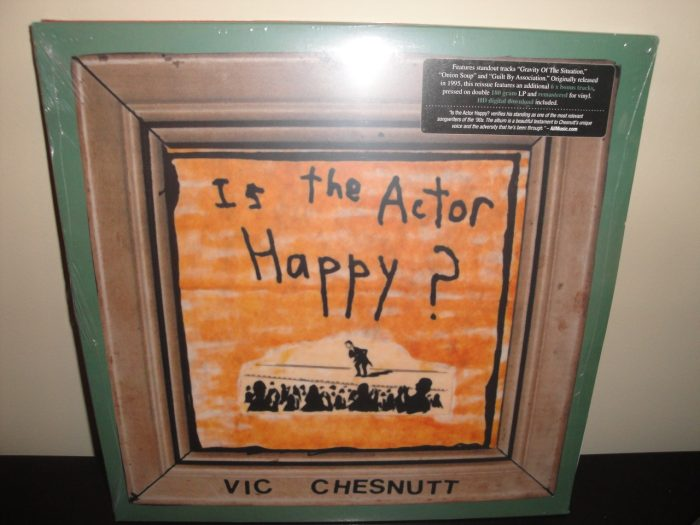 Vic Chesnutt - Is The Actor Happy? reissue