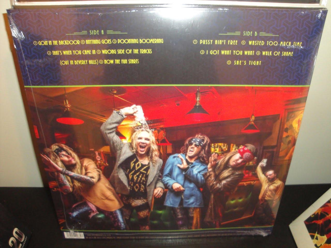 Steel Panther Vinyl