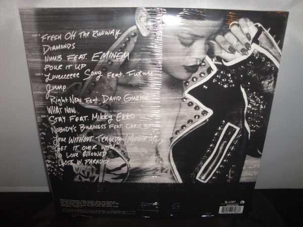 Rihanna - Unapologetic [Explicit Content] Double Vinyl LP 2017