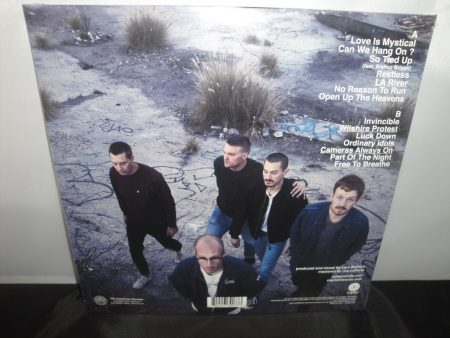 Cold War Kids purple vinyl