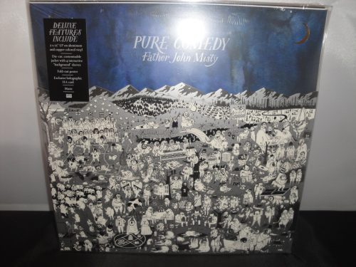 Father John Misty - Pure Comedy - Ltd Ed 2XLP Colored Vinyl, Die Cut