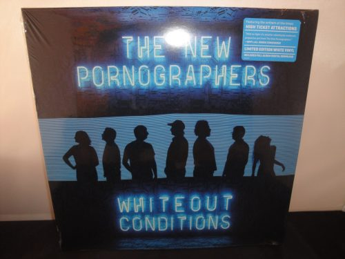 The New Pornographers - Whiteout Conditions - Ltd Ed White Vinyl LP