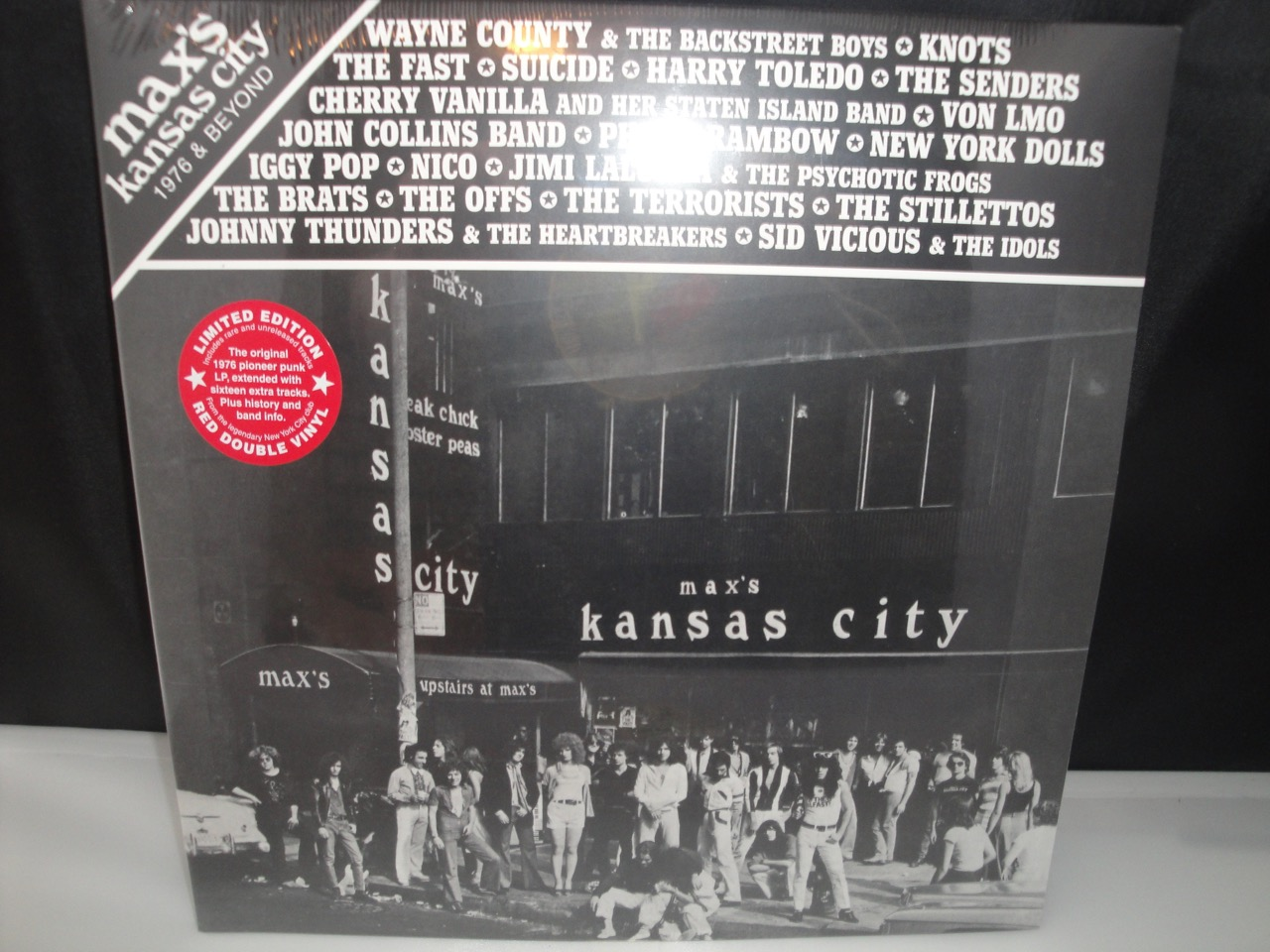 Various Artists - Max's Kansas City 1976 - Extended Version 2XLP 2017