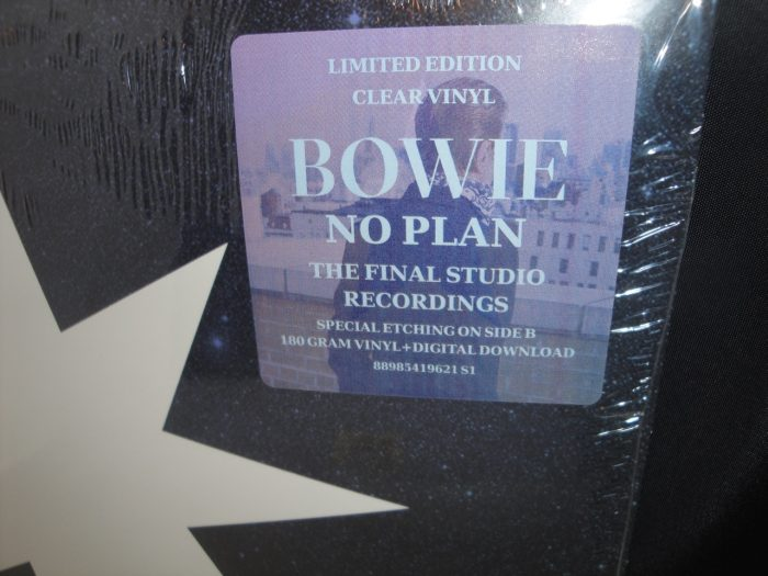 David Bowie - No Plan - Limited Edition Blue Vinyl EP - 2017