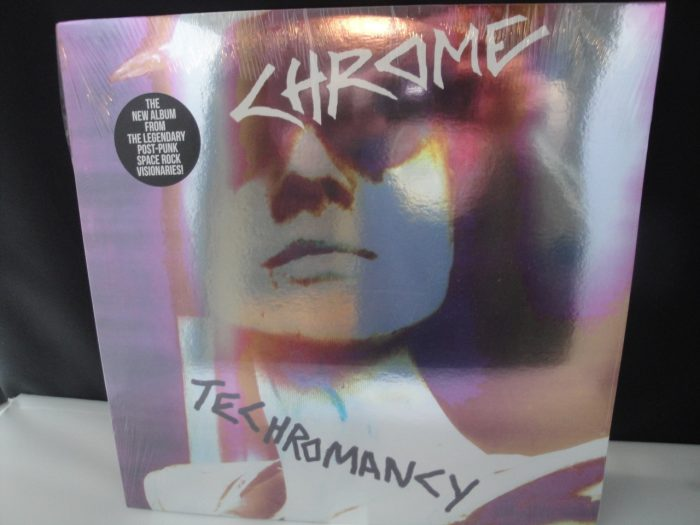Chrome - Techromancy - Ltd Ed Clear Vinyl - Cleopatra Records 2017