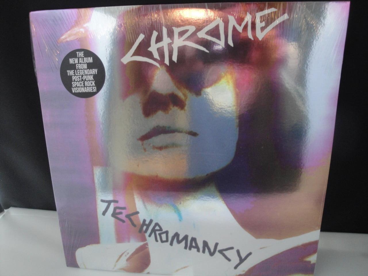 Chrome - Techromancy - Ltd Ed Clear Vinyl - Cleopatra Records 2017