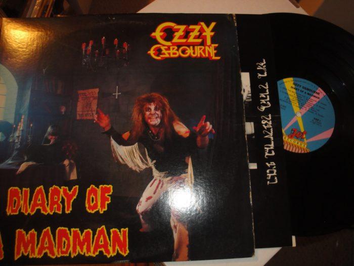 Ozzy Osbourne - Diary Of A Madman 1981 Vinyl LP, Jet Records, FZ 37492