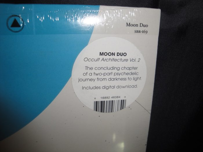 "Moon Duo ""Occult Architecture 2"" Limited Edition Vinyl LP 2017"