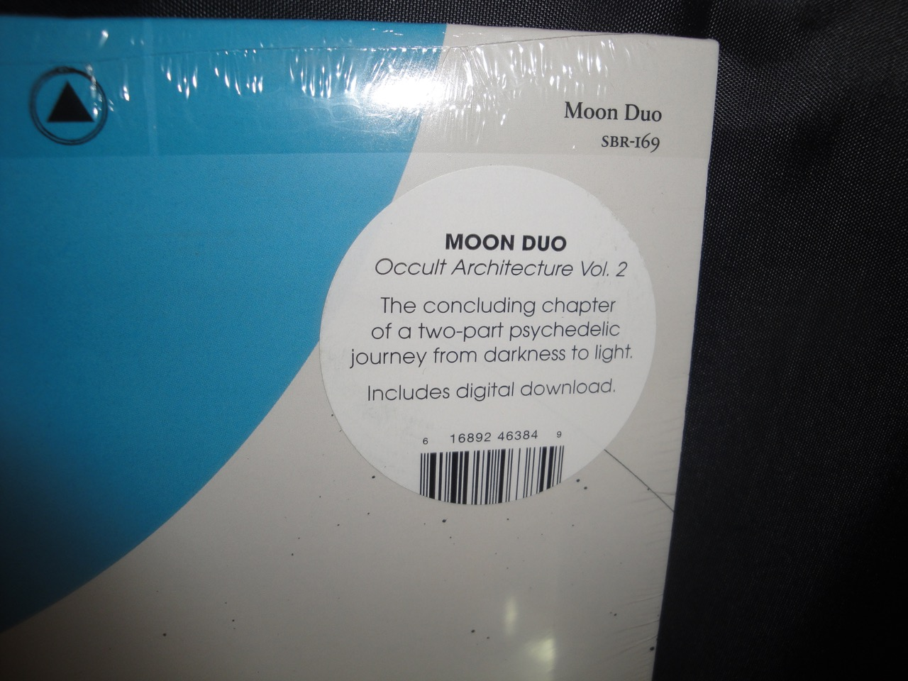 """Moon Duo """"Occult Architecture 2"""" Limited Edition Vinyl LP 2017"""