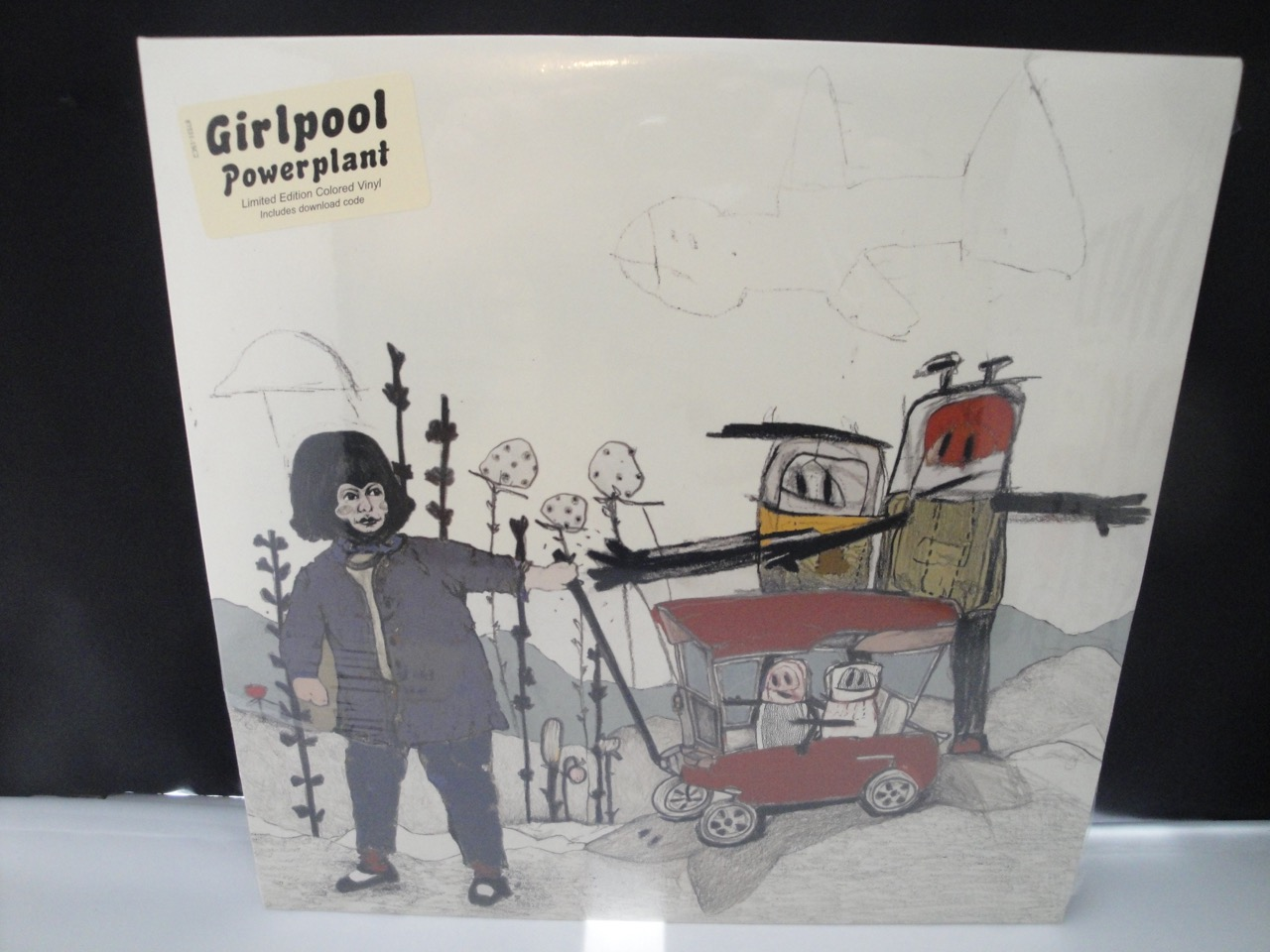 Girlpool - Powerplant - Limited Edition Red Translucent Vinyl 2017