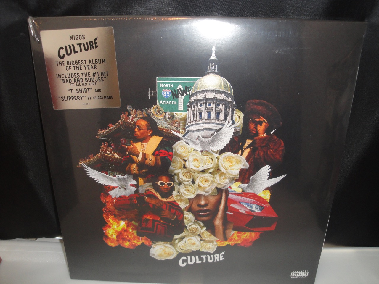 Migos - Culture - Double Vinyl LP 2017, NEW Explicit
