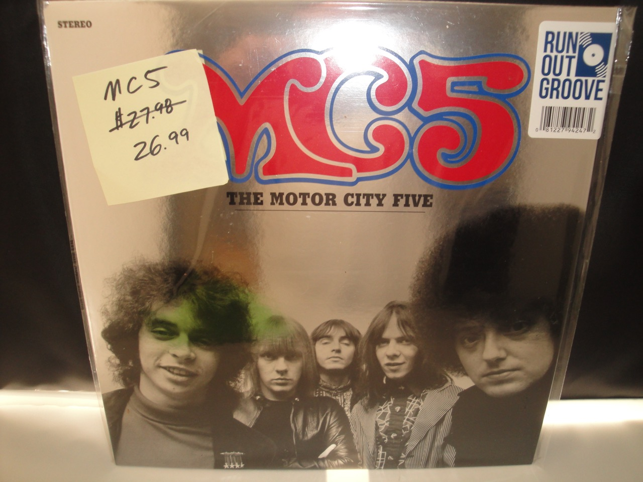 MC5 - The Motor City Five - 2017 Vinyl Reissue - Run Out Groove - with a slightly bumped corner!